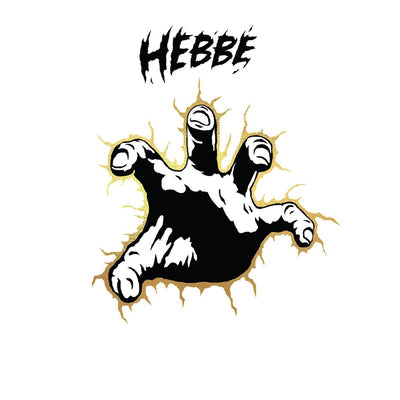 "Hebbe - Quiche / Looters [Yellow Marbled 10"" Vinyl w/ Printed Sleeve & Gold Foil + free dl]"