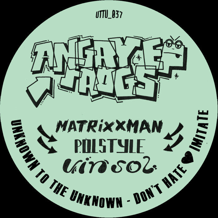 P.O.L Style, Vin Sol & Matrixxman ‎– Angry Frogs EP - Unearthed Sounds