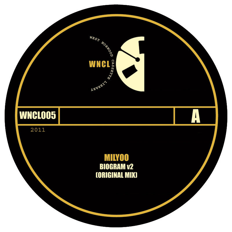 Milyoo ‎– Biogram v2 - Unearthed Sounds