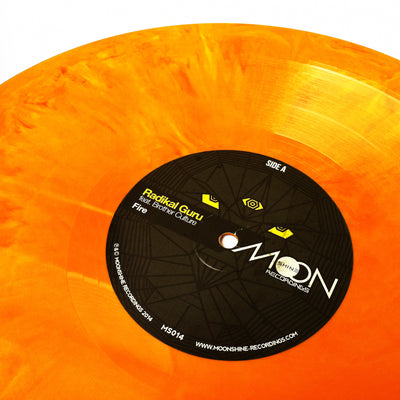 Radikal Guru ft. Brother Culture - Fire [Orange Vinyl Version] - Unearthed Sounds