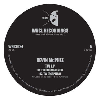 Kevin McPhee - TW EP - Unearthed Sounds