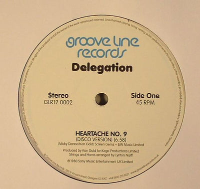 Delegation - Heartache No. 9 / You & I - Unearthed Sounds