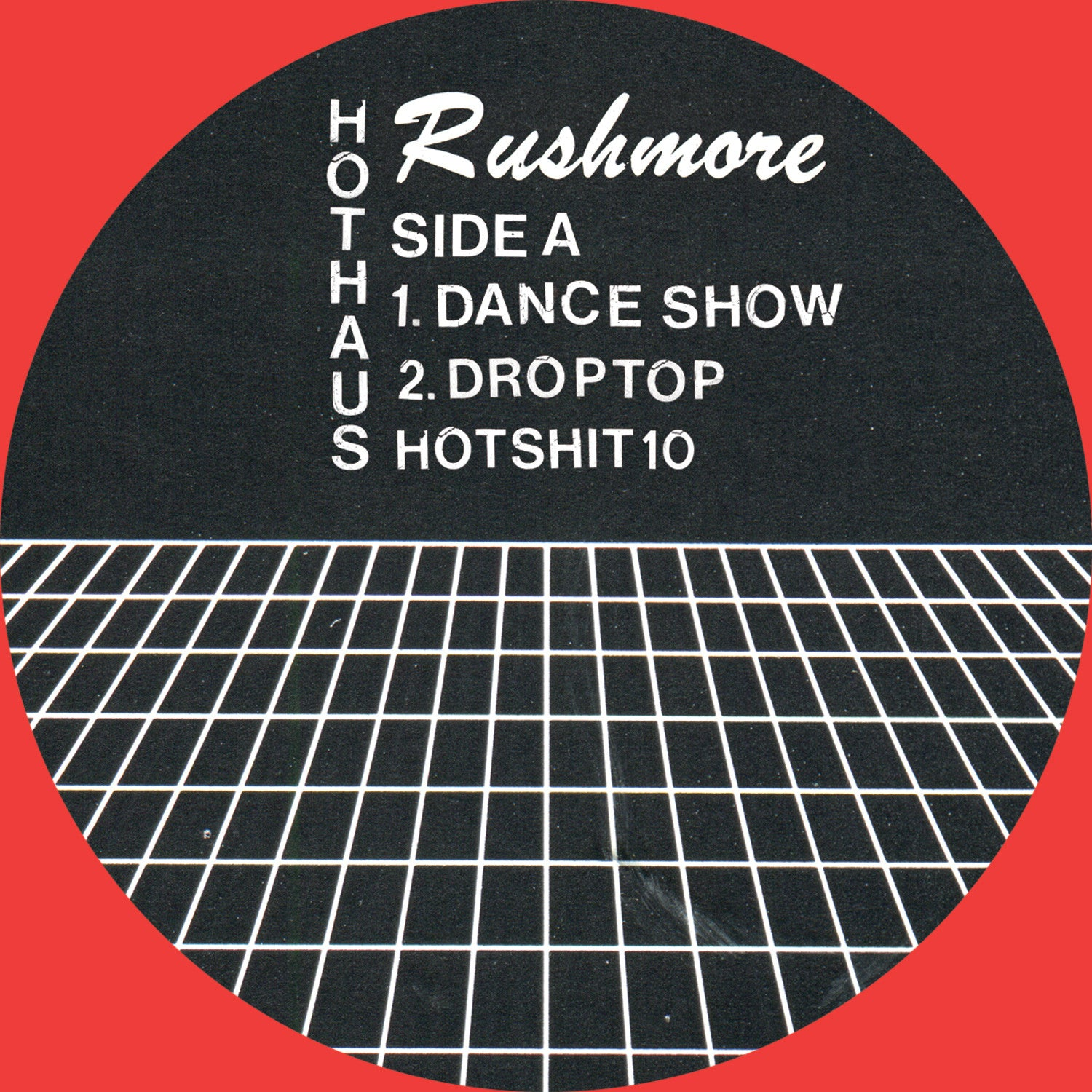 Rushmore - Dance Show EP - Unearthed Sounds