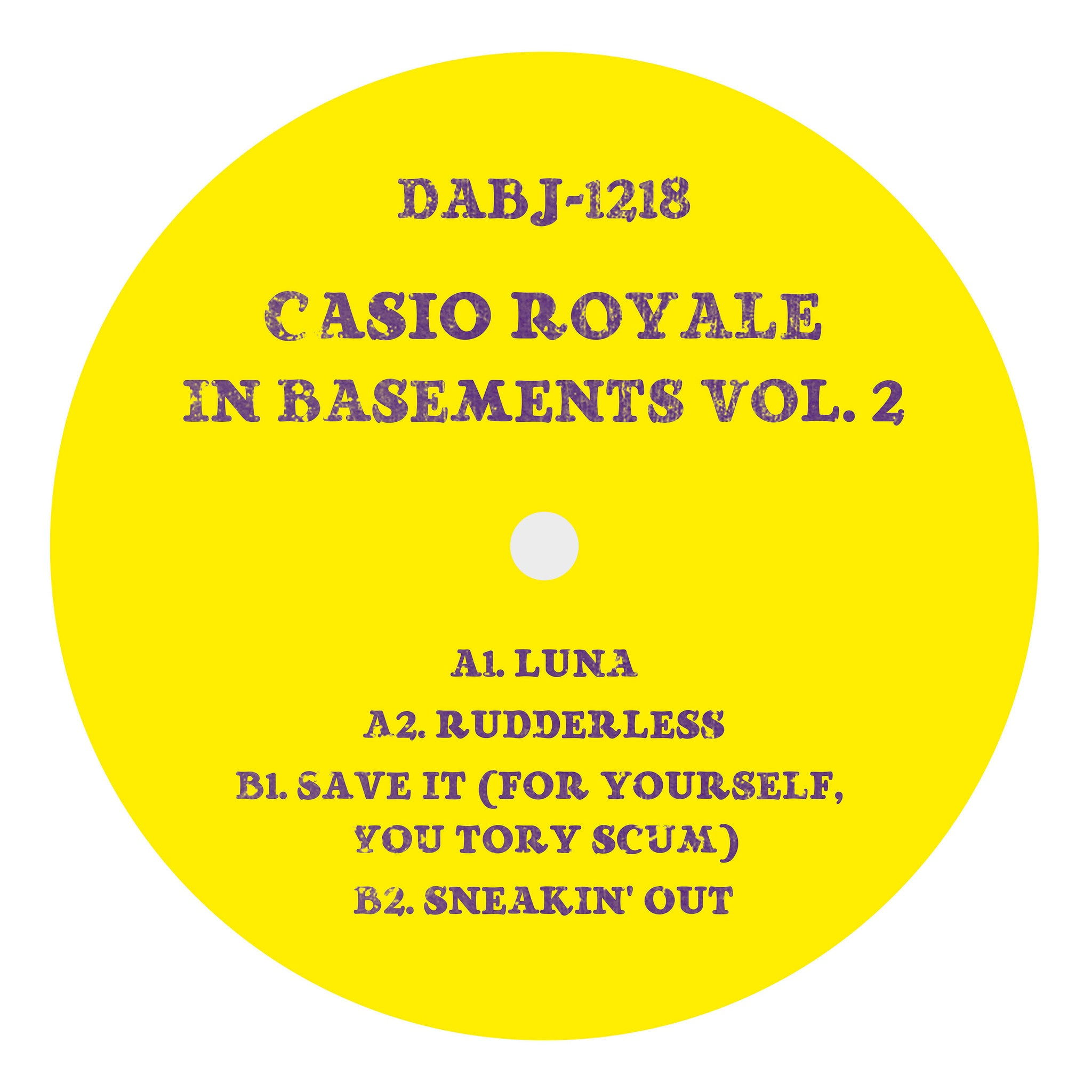 Casio Royale - In Basements Vol.2 - Unearthed Sounds