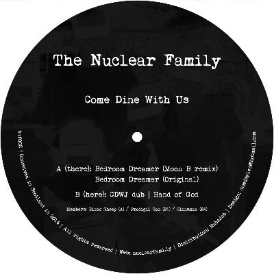 The Nuclear Family - Come Dine With Us - Unearthed Sounds, Vinyl, Record Store, Vinyl Records