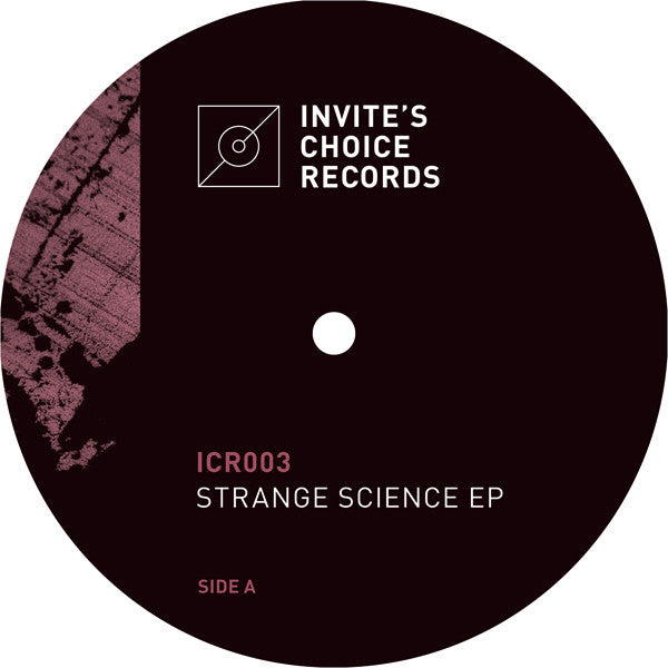 Various Artists - Strange Science EP , Vinyl - Invite's Choice Records, Unearthed Sounds