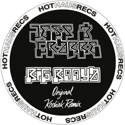 Jess & Crabbe - Big Booya [2013 Remastered] , Vinyl - Hot Haus, Unearthed Sounds