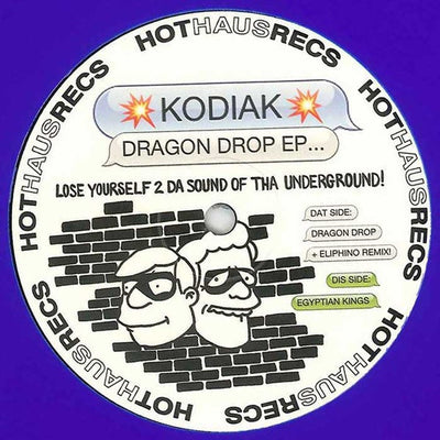 Kodiak - Dragon Drop EP - Unearthed Sounds