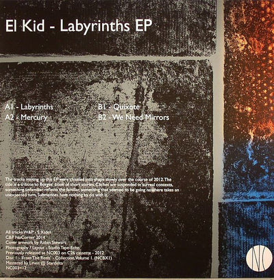 El Kid - Labyrinths EP - Unearthed Sounds