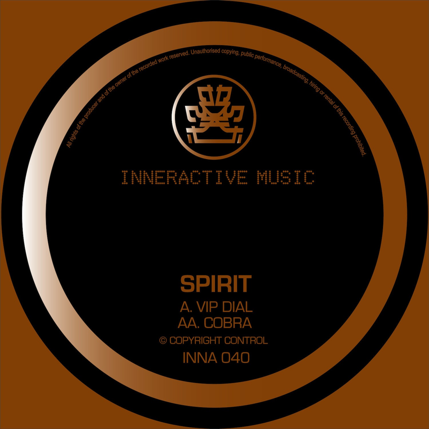 Spirit - VIP Dial / Cobra - Unearthed Sounds