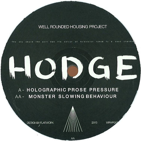 Hodge - Holographic Prose EP