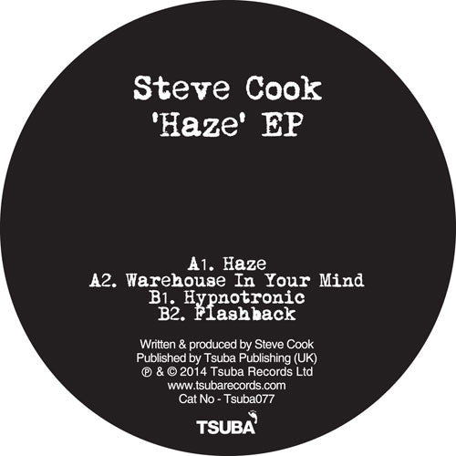 Steve Cook - Haze - Unearthed Sounds