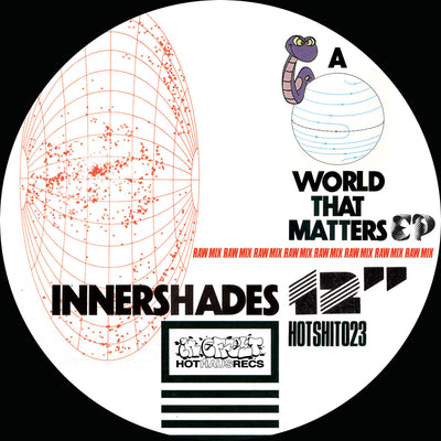 Innershades - A World That Matters EP , Vinyl - Hot Haus, Unearthed Sounds