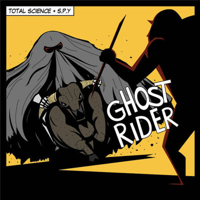 Total Science & S.P.Y. - Ghost Rider , Vinyl - CIA Records, Unearthed Sounds