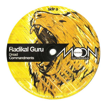 Radikal Guru ‎- Dread Commandments - Unearthed Sounds
