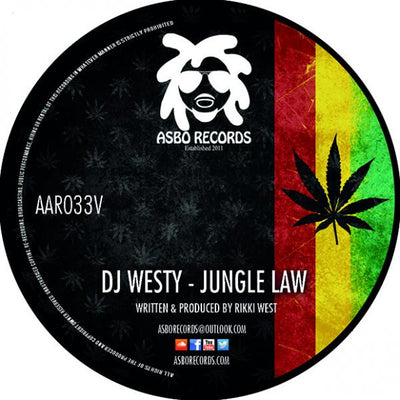 DJ Westy - Jungle Law - Unearthed Sounds