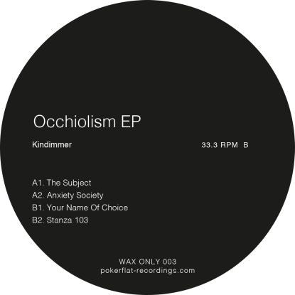 Kindimmer - Occhiolism EP - Unearthed Sounds