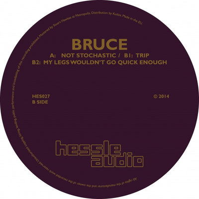 Bruce - Not Stochastic - Unearthed Sounds, Vinyl, Record Store, Vinyl Records