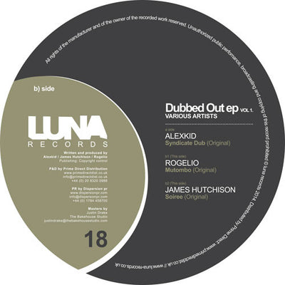 Various Artists - Dubbed Out EP Vol. 1 - Unearthed Sounds