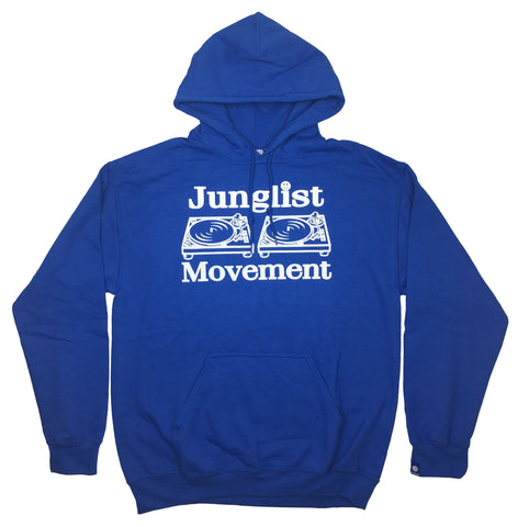 Junglist Movement Hoodie (Royal Blue)