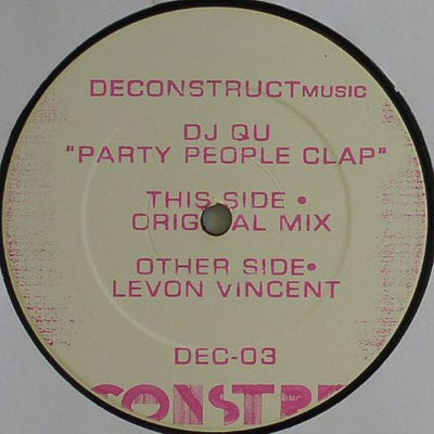 DJ Qu - Party People Clap - Unearthed Sounds