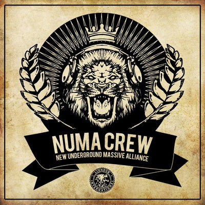 Numa Crew - New Underground Massive Alliance LP [CD] - Unearthed Sounds