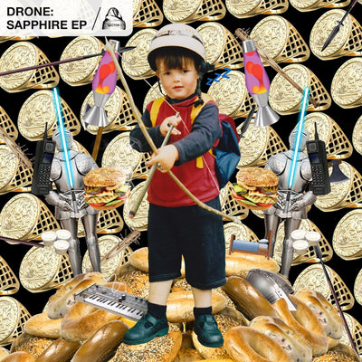 Drone - Sapphire EP - Unearthed Sounds, Vinyl, Record Store, Vinyl Records
