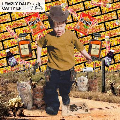 Lemzly Dale ‎- Catty EP - Unearthed Sounds, Vinyl, Record Store, Vinyl Records
