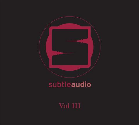 Subtle Audio Vol III - 3xCD