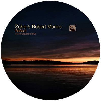 Seba ft Robert Manos - Reflect [dark red marbled vinyl] - Unearthed Sounds