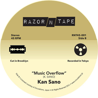 Kan Sano - Everybody Loves The Sunshine / Music Overflow - Unearthed Sounds