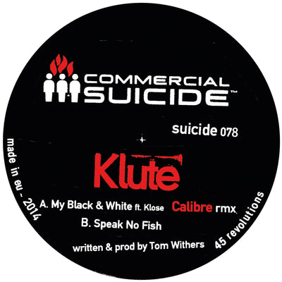 Klute (ft. Klose) - My Black and White (Calibre Remix) - Unearthed Sounds