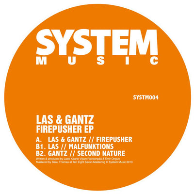 LAS & Gantz - Firepusher (Ltd Re-Press) - Unearthed Sounds