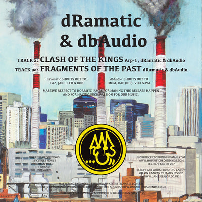 dRamatic & dbAudio - Clash of the Kings / Fragments of the Past - Unearthed Sounds, Vinyl, Record Store, Vinyl Records