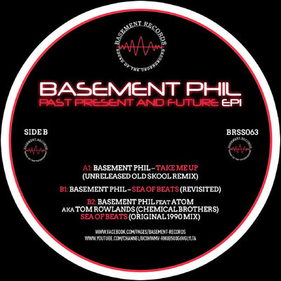 Basement Phil - Past, Present & Future EP 1 - Unearthed Sounds, Vinyl, Record Store, Vinyl Records