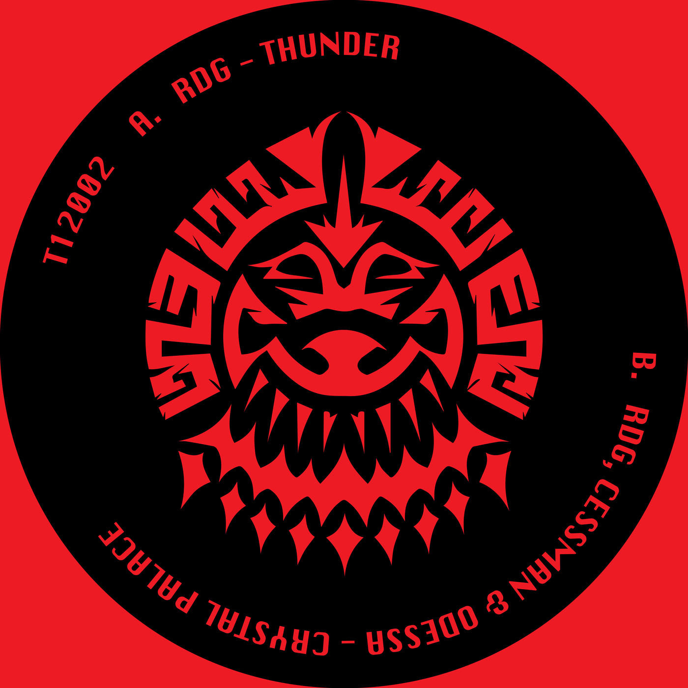 RDG, Cessman & O-Dessa - Thunder / Crystal Palace - Unearthed Sounds
