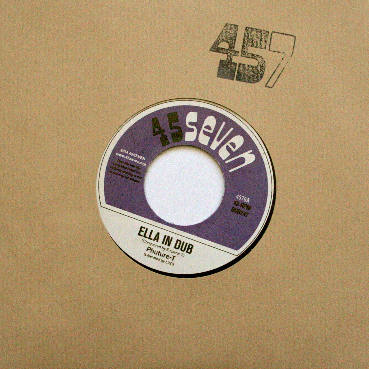 Phuture-T - Ella In Dub / Dubber Ella - Unearthed Sounds