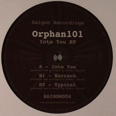 Orphan101 - Into You EP - Unearthed Sounds