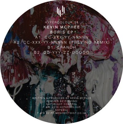 Kevin McPhee - Boris EP - Unearthed Sounds