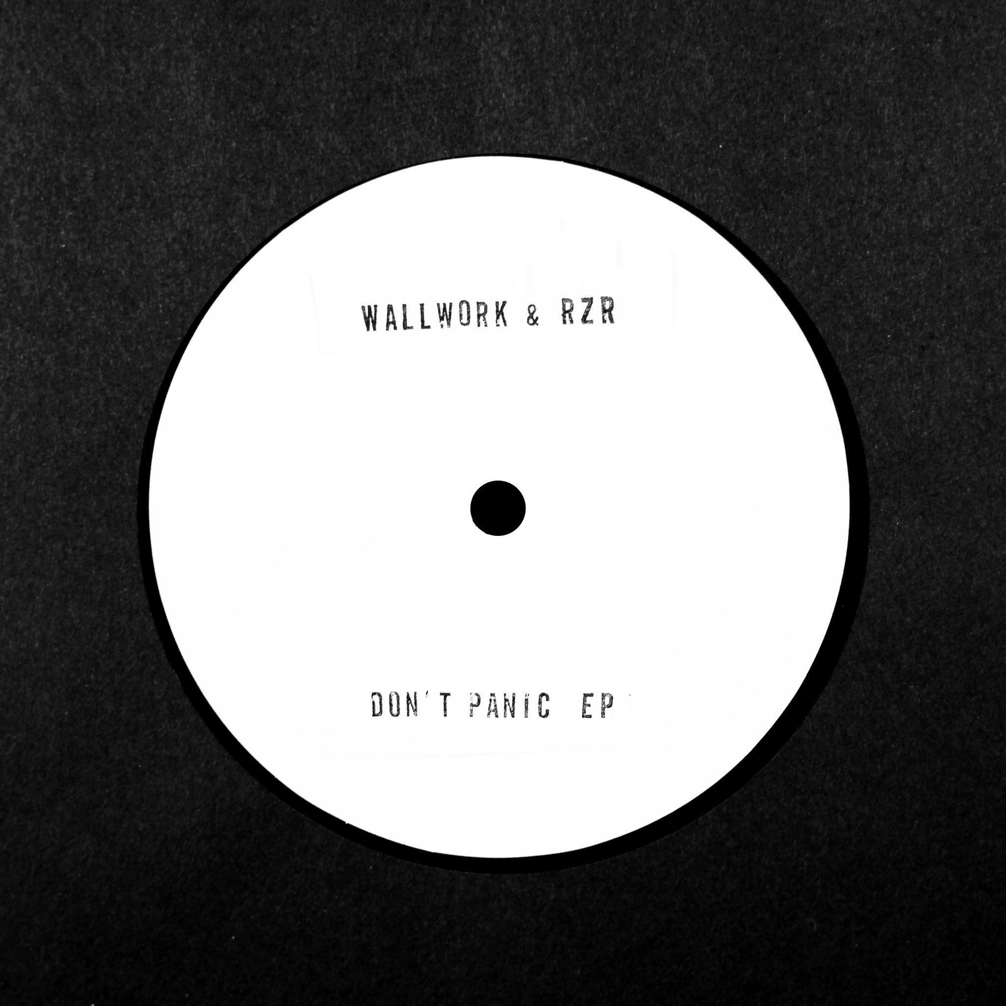 Wallwork & RZR - Don't Panic EP - Unearthed Sounds