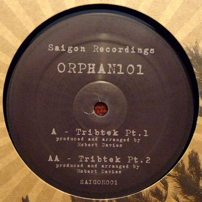 Orphan101 ‎- Tribtek Part 1 & 2 - Unearthed Sounds, Vinyl, Record Store, Vinyl Records