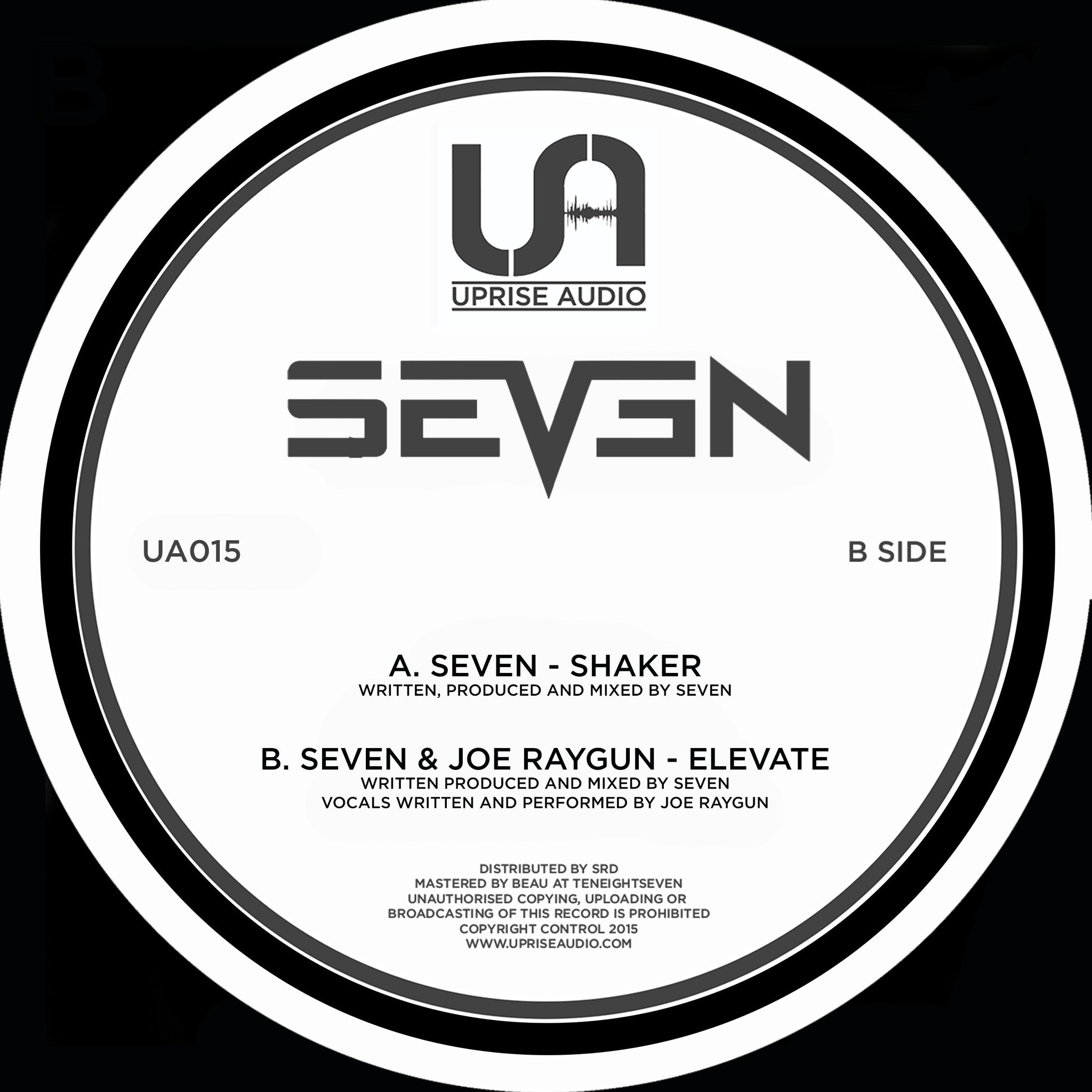 Seven & Joe Raygun - Shaker / Elevate - Unearthed Sounds