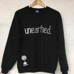 Unearthed x Aerosoul (Black) Collaboration Heavy Blend Sweatshirt