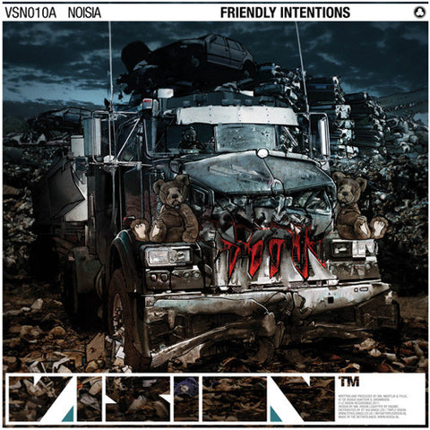 Noisia - Friendly Intentions / Displaced