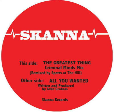 Skanna - The Greatest Thing (Criminal Minds Mix) / All You Wanted - Unearthed Sounds