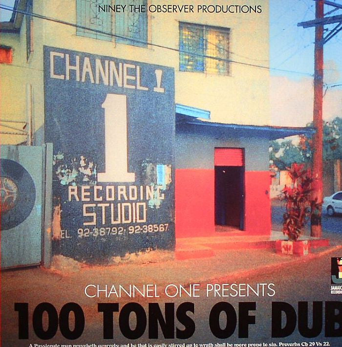 Niney The Observer - 100 Tons Of Dub - Unearthed Sounds