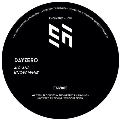 Dayzero - ALS-ANS / Know What - Unearthed Sounds