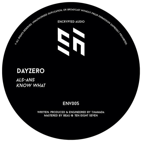 Dayzero - ALS-ANS / Know What