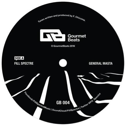 Fill Spectre - General Masta EP - Unearthed Sounds