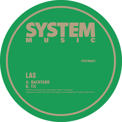 LAS ‎– Backyard / Tic - Unearthed Sounds